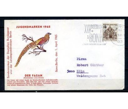 ALMANYA 1965 PGZ KUŞ TEMALI  PULLA SÜPER (250715)
