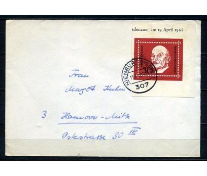 ALMANYA 1968 PGZ ROBERT SCHUMAN TEK PULLA (250715)