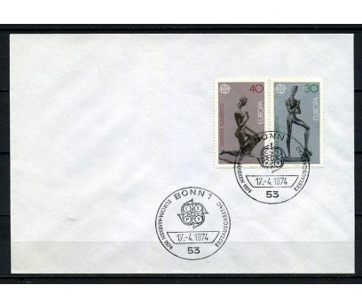 ALMANYA 1974 FDC EUROPA CEPT SÜPER (250715)