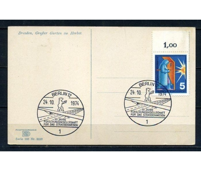 ALMANYA 1974 HATIRA KART 50.YIL TEMALI (260715)
