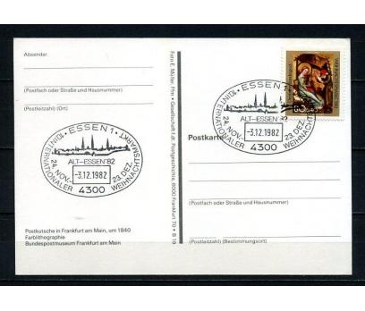 ALMANYA 1982  H.KART CHRISTMAS TEMALI (250715)