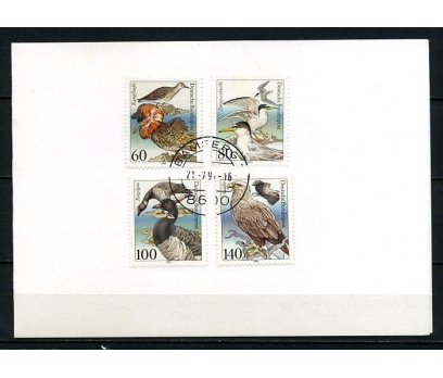 ALMANYA 1991 H.KART NESLİ T.OLAN KUŞLAR (240715)