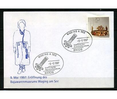 ALMANYA 1997 Ö.DAMGA MÜCEVHERLER SÜPER (250715)