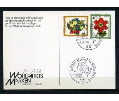 ALMANYA & BERLİN HATIRA KART1974 CHRISTMAS(240715)