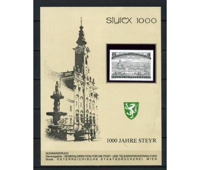 AVUSTURYA 1980 SCHWARZDRUCK SÜPER (260715)