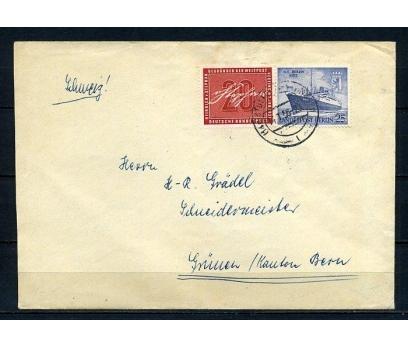 BERLİN 1956 GEMİ TEMALI POSTADAN G.ZARF (260715)