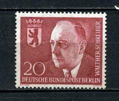 BERLİN ** 1960 W.SCHREİBER  2.Ö.Y. TAM S.(010815)