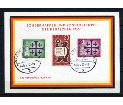 BERLİN  HATIRA KART 1962 SERGİ SÜPER (240715) 1