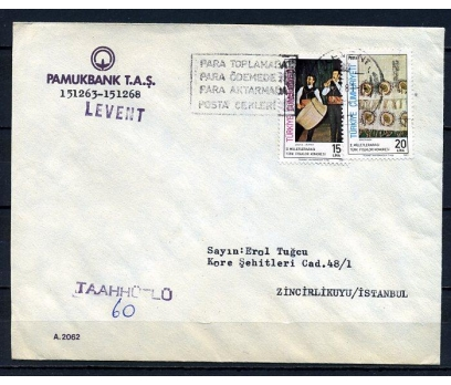 CUMHURİYET 1981 FLAMLI TAAHHÜTLÜ PGZ(270715)