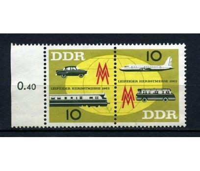 DDR ** 1963 LEİPZİG FUARI TAM SERİ SÜPER (170715)