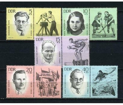 DDR ** 1963 ÖLDÜRÜLEN ANTİFAŞİST SPORCULAR(170715)