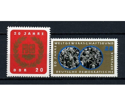 DDR ** 1965 FDGB 20.YIL TAM SERİ (170715)