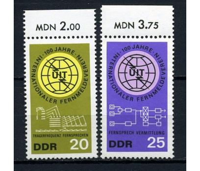 DDR ** 1965 ITU 100.YIL TAM SERİ (170715)
