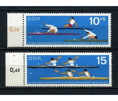 DDR  ** 1966 DÜNYA KANO ŞAMPİYONASI TAM S.(180715)