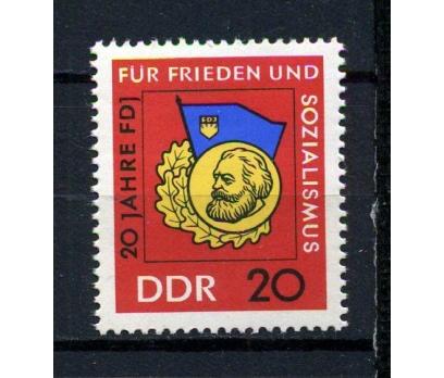 DDR **1966 FDJ 20.YIL ALMAN GENÇLİK TAM S.(180715)