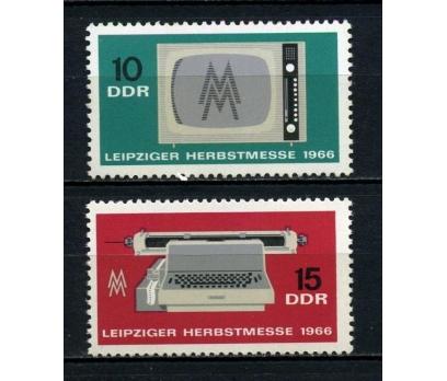 DDR  ** 1966 LEİPZİG FUARI TAM SERİ (180715)