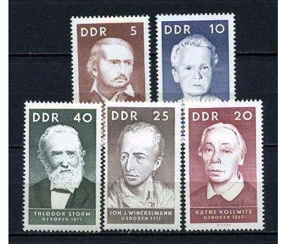 DDR ** 1967 ÜNLÜLER TAM SERİ (180715)