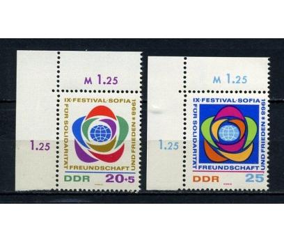 DDR ** 1968 GENÇLİK FESTİVALİ TAM SERİ (190715)