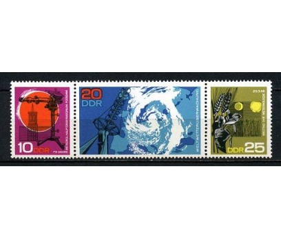 DDR ** 1968 METEOROLOJİ TAM SERİ (190715)