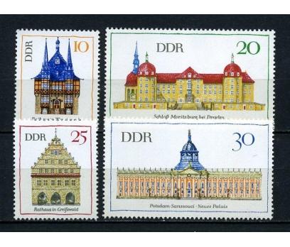 DDR ** 1968 OLAĞANÜSTÜ BİNALAR TAM SERİ (190715)
