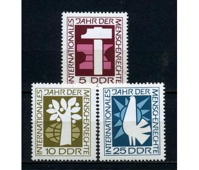 DDR ** 1968 U.İNSAN HAKLARI YILI TAM SERİ (190715)