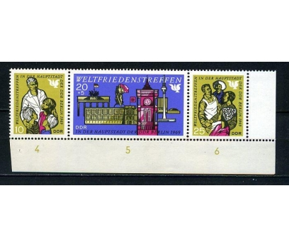 DDR ** 1969 D.BARIŞ TOPLANTISI TAM SERİ (200715)