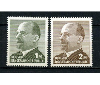 DDR ** 1969 WALTER ULBRICHT TAM SERİ (200715)