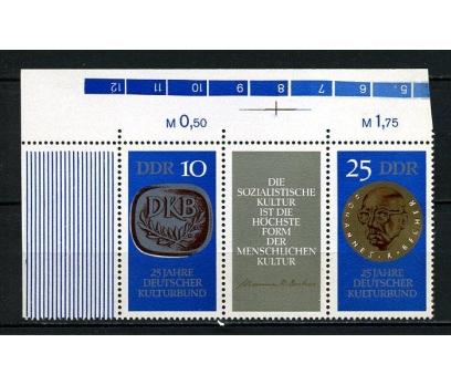 DDR ** 1970 ALMAN KÜLTÜR D. 25.Y.TAM SERİ (200715)