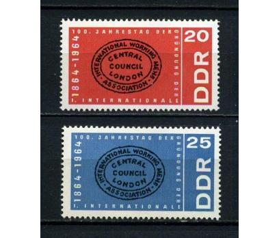 DDR**1964 İŞÇİ BİRLİĞİ 100.YIL TAM S.SÜPER(170715)
