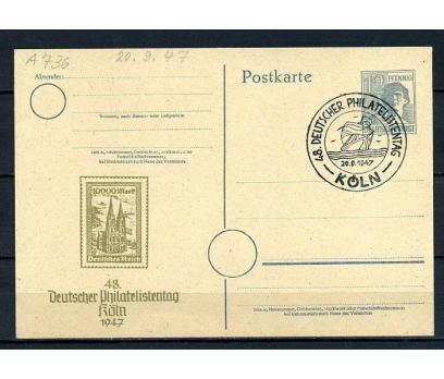 D.POST 1947 ANTİYE FİLATELİ GÜNÜ Ö.DAMGALI(270715)