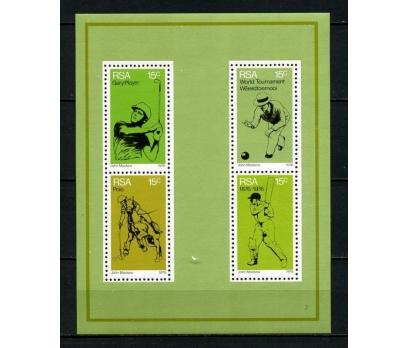 G.AFRİKA ** 1976 SPOR & GOLF  BLOK SÜPER(150715)