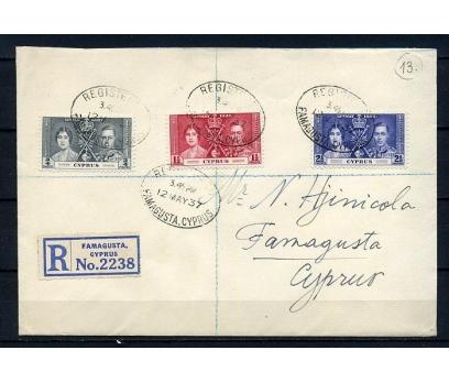 G.KIBRIS 1937 KR.ELİZABET & KRAL 6.GEORGE( 260715)