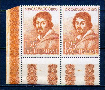 İTALYA ** 1960 RESSAM CARAVAGGİO TAM S.PER(290715)