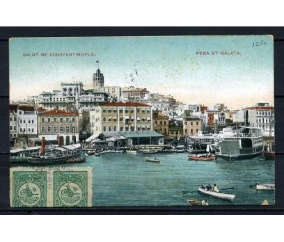 OSMANLI 1910 KARTPOSTAL GALATA SÜPER (270715)