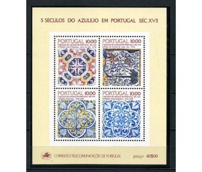 PORTEKİZ ** 1982 500 YILLIK ESERLER  BLOK (150715)
