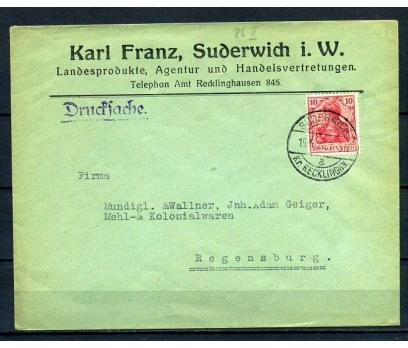 REİCH 1920 P.G.ZARF KLASİK PULLU SÜPER (280715)