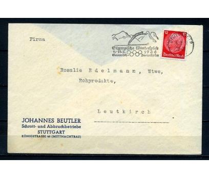REİCH 1936 P.G.ZARF OLİMP.FLAMLI SÜPER (280715)