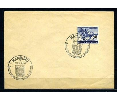 REİCH 1942 ALMANYA DERBİSİ MAVİ KURDELE (280715)