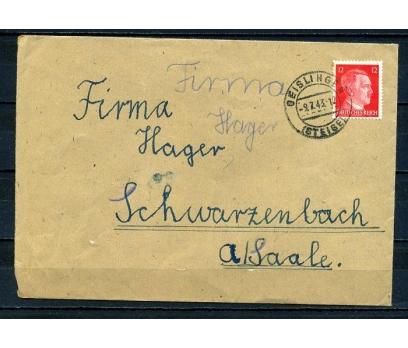 REİCH 1943 HİTLER PULLU POST.G.ZARF SÜPER (280715)