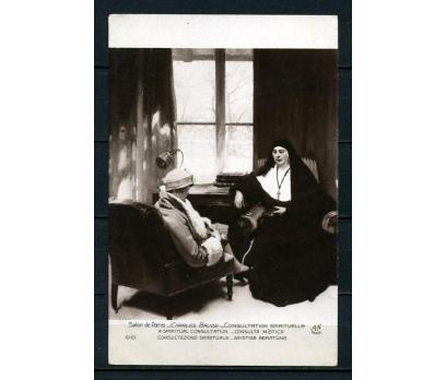 SALON DE PARİS 1950'LER KARTPOSTAL TABLO (260715)