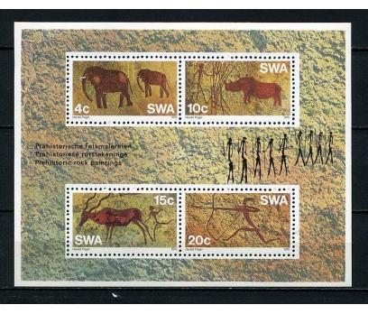 SW.AFRİKA ** 1976 TABLO & KAYA RESİM BLOK (150715)