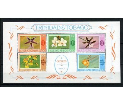 TRİ.TOBAGO ** 1978 ORKİDELER BLOK SÜPER (150715)