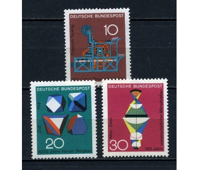 ALMANYA ** 1968 TEKNOLOJİ & BİLİM TAM SERİ(030815)