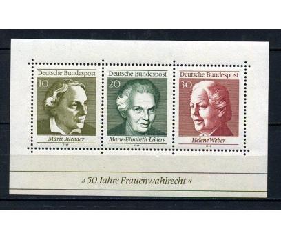 ALMANYA ** 1969 KADINLAR S.H. BLOK SÜPER (020815)