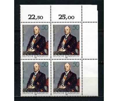 ALMANYA ** 1983 O.WARBURG 100.D.Y.DBL TAM (040815)