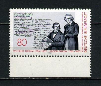 ALMANYA ** 1985 GRIMM KARDEŞLER 200.D.Y.(040815)