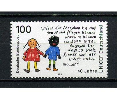 ALMANYA ** 1993 UNICEF 40.YIL TAM SERİ (050815)