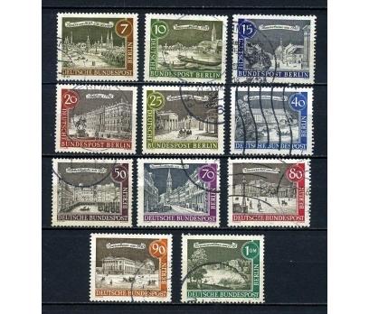 BERLİN DAMGALI 1962  ESKİ BERLİN 11 VALÖR (060815)