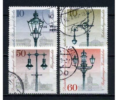 BERLİN DAMGALI 1979 SOKAK LAMBALARI TAM S.(060815)