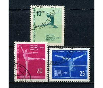 DDR DAMGALI 1961 AV.B.A.JİMNASTİK TAM SERİ(060815)